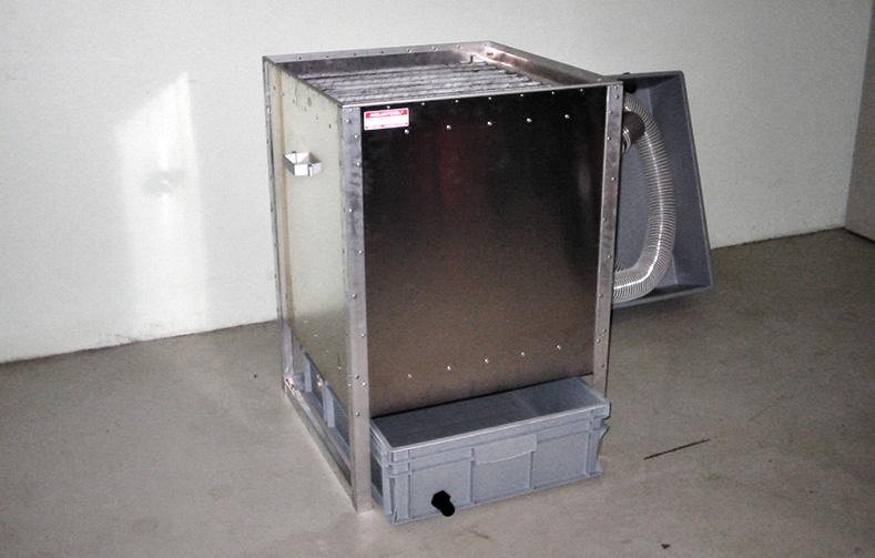 Filtersystem uden låg - en del af tagrensning