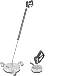 Stor og lille gulvvasker vises i produkter
