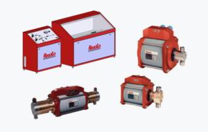 Udstyr til hydrostatisk tryk test vises i produkter