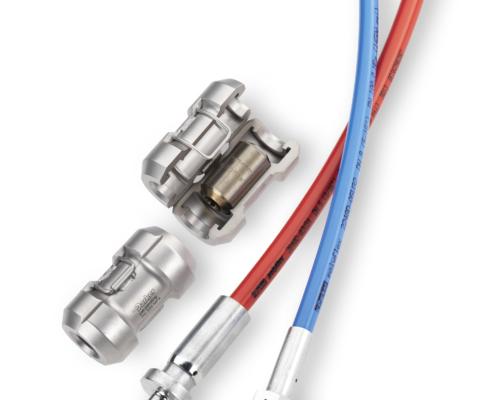 Højtryksslanger med UHP-Lock (lynkobling) vises i produkter