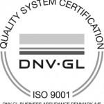UK-ISO9001 Logo - Professionel højtryk