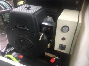 Brugt højtryksrenser, trailermonteret