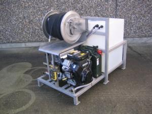 SH150 kloakrenser i stativ