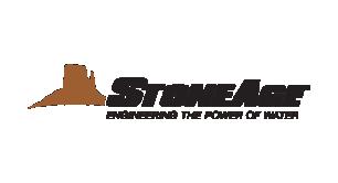 Stoneage Logo - Professionel højtryk vises i download
